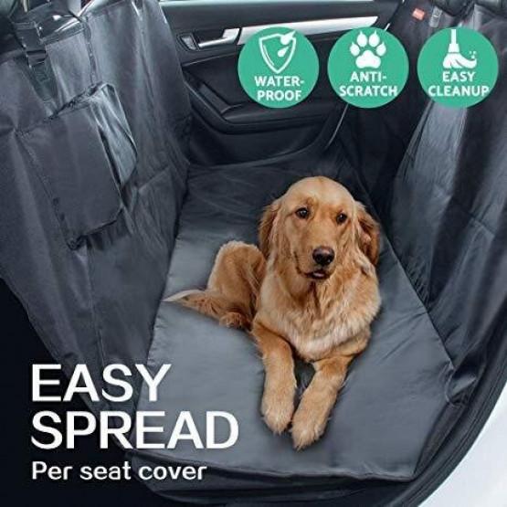 Водоустойчиво покривало за кола за домашни любимци- Pet Seat Cover