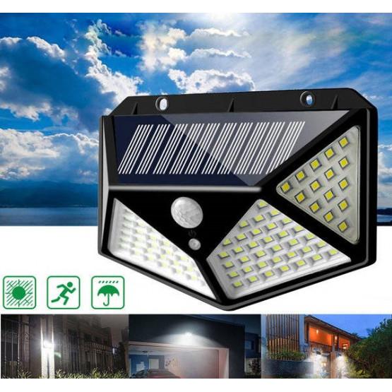 Мощна Соларна Лампа 114 Диода