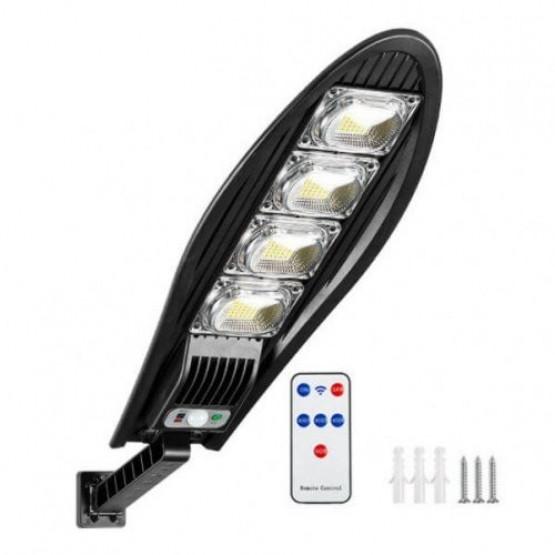 LED соларна улична лампа с дистанционно и сензор