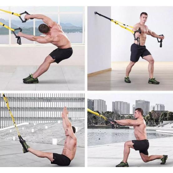 Мултифункционални фитнес ластици за тренировка