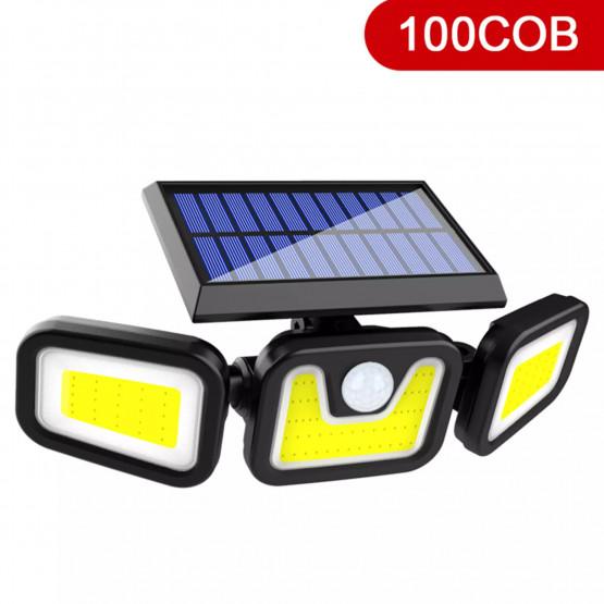 Въртяща се LED лампа със сензор за движение