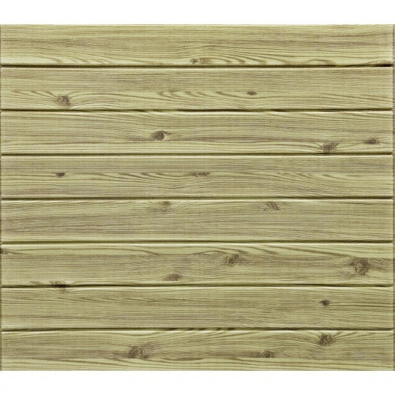 Топлоизолационно самозалепващо пано Wood Grain Line mix color 77x60x0.6 сm Дъб
