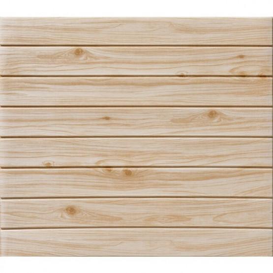 Топлоизолационно самозалепващо пано Wood Grain Line mix color 77x60x0.6 сm Бук