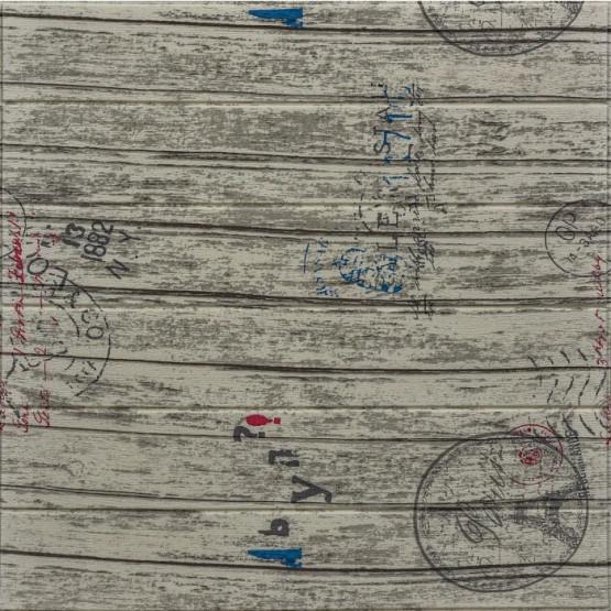 Топлоизолационно самозалепващо пано Wood Grain She 70x70x0.6 сm Дърво с печати