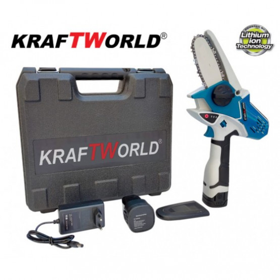 Немска Акумулаторна резачка за клони KraftWorld 18V