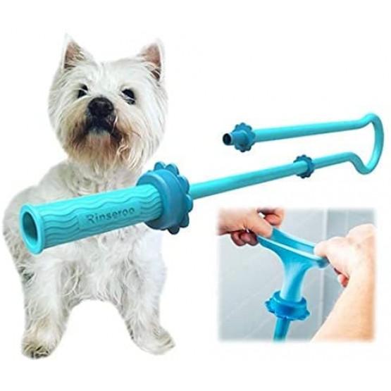 Еластичен накрайник тип кучешки душ в две части