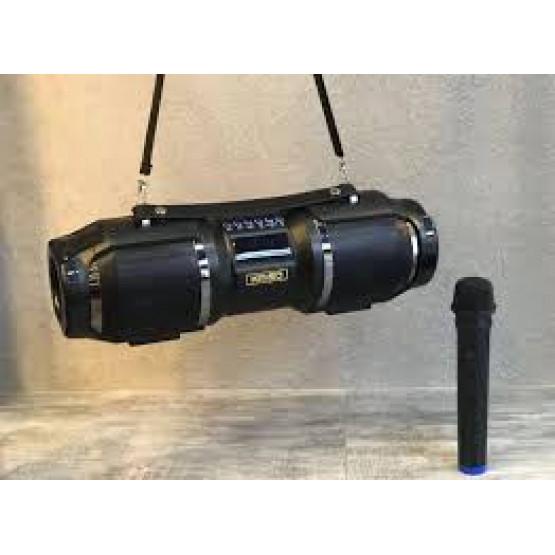 Мощна преносима Караоке колона с Bluetooth блутут и микрофон