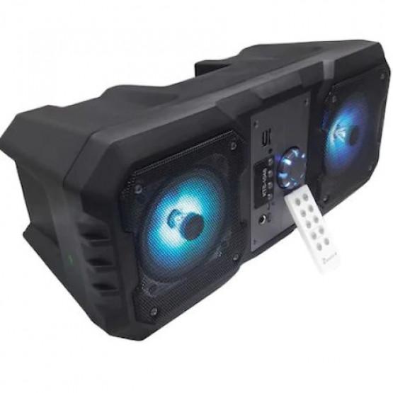 Преносима тонколона с вграден усилвател, микрофонен вход и Bluetooth