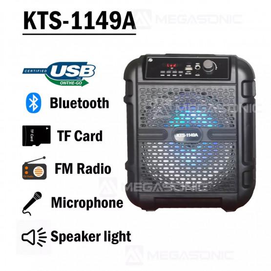 Тонколона модел KTS-1149 с подарък микрофон/8 инчова