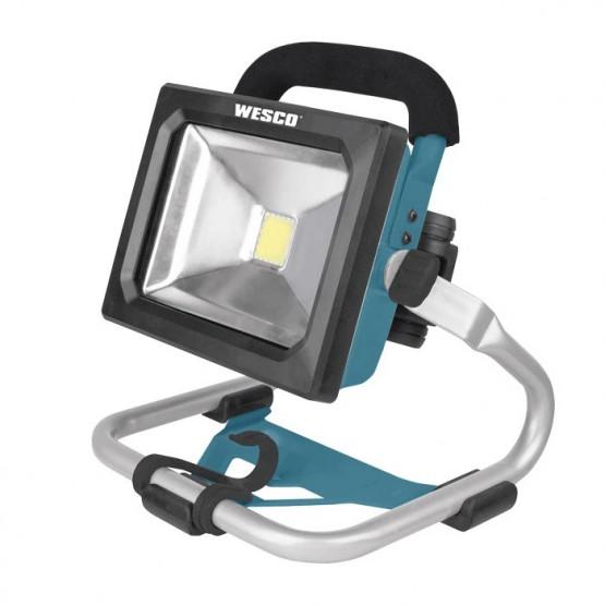 LED прожектор Wesco WS2943.9 Li-ion 18V без батерия и зарядно