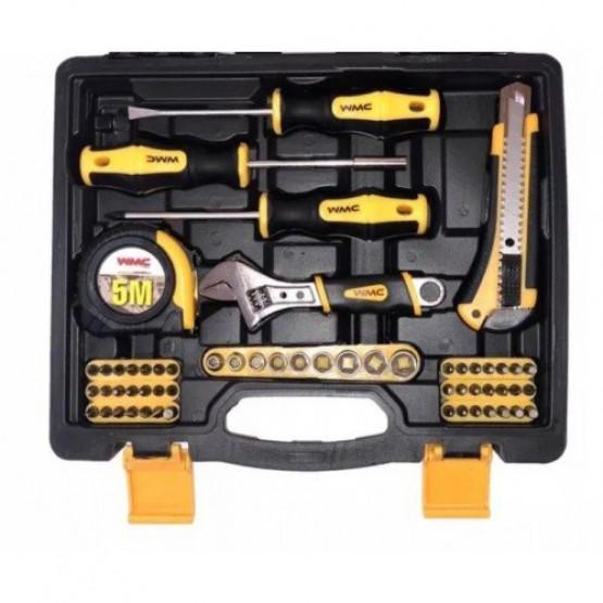 Куфар с инструменти 82 части WMC