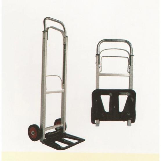 Транспортна сгъваема количка с две колела 90кг 1110х400х410мм