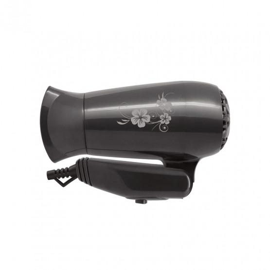 Сешоар със сгъваема дръжка SAPIR SP 1100 CR, 1200W, 2 степени, концентратор, Сив